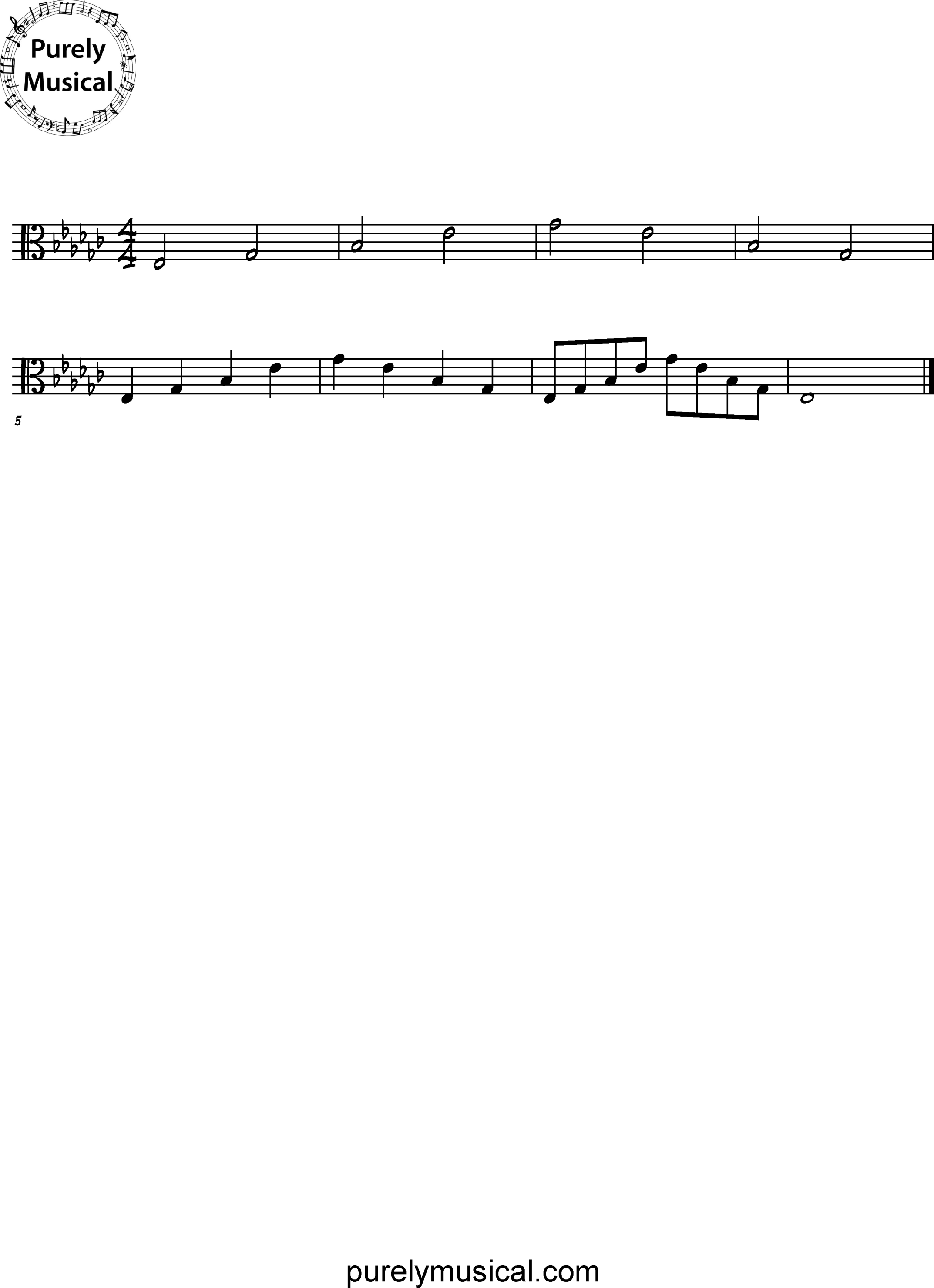 Intermediate  Arpeggio Eb Minor